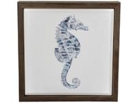 LaVida: Framed Canvas (Seahorse) image