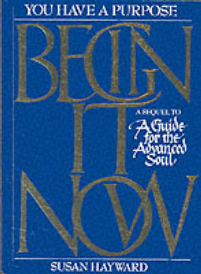 Begin it Now by Susan Hayward image