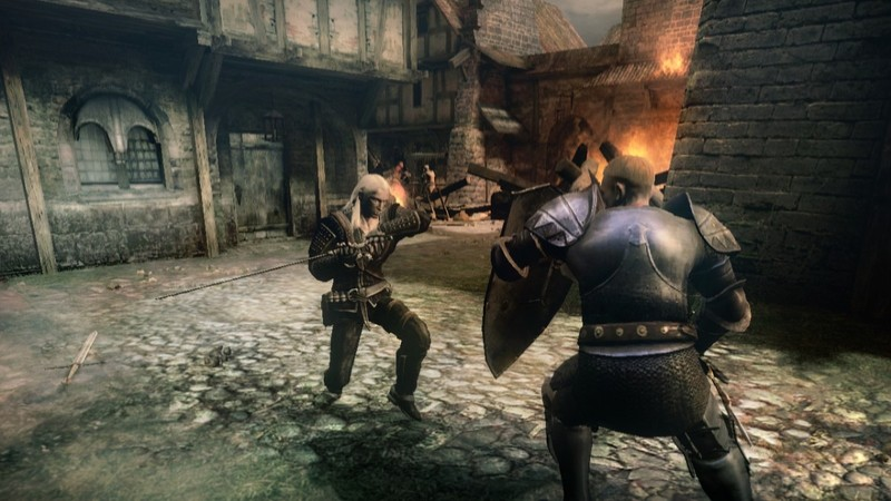 The Witcher: Rise of the White Wolf for Xbox 360 image