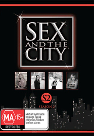 Sex And The City - Season 2 (3 Disc Set) on DVD