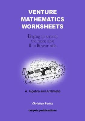 Venture Mathematics Worksheets: Bk. A by Christian Puritz image