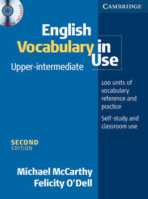 English Vocabulary in Use Upper-Intermediate with CD-ROM by Felicity O'Dell image