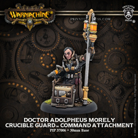 Warmachine: Golden Crucible - Doctor Adolpheus Morely Character