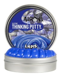 Crazy Aarons Thinking Putty: Mini Tin - Electric Lapis
