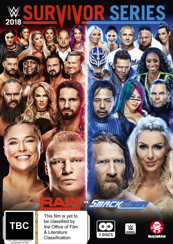 WWE: Survivor Series 2018 on DVD