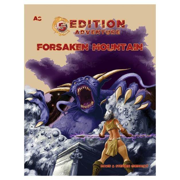 5E Adventure A8 - The Forsaken Mountain