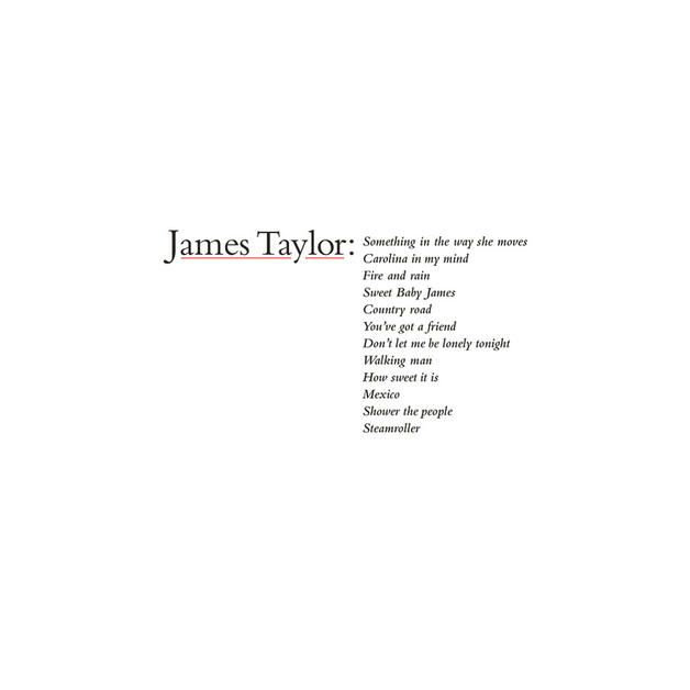 James Taylor's Greatest Hits by James Taylor