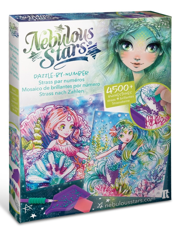 Nebulous Stars: Dazzle by Number - Creative Art Kit