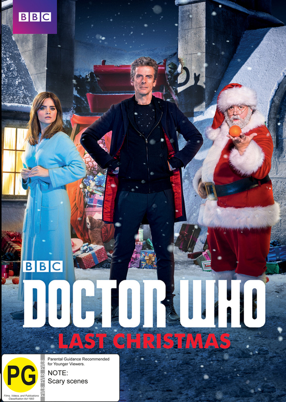 Doctor Who Last Christmas (2014 Special) on DVD