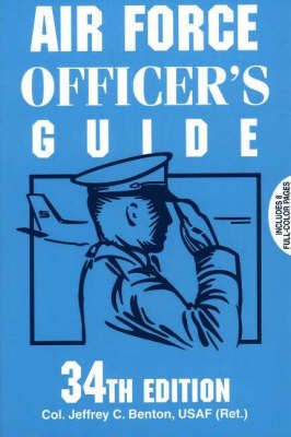 Air Force Officer's Guide by Jeffrey C. Benton image