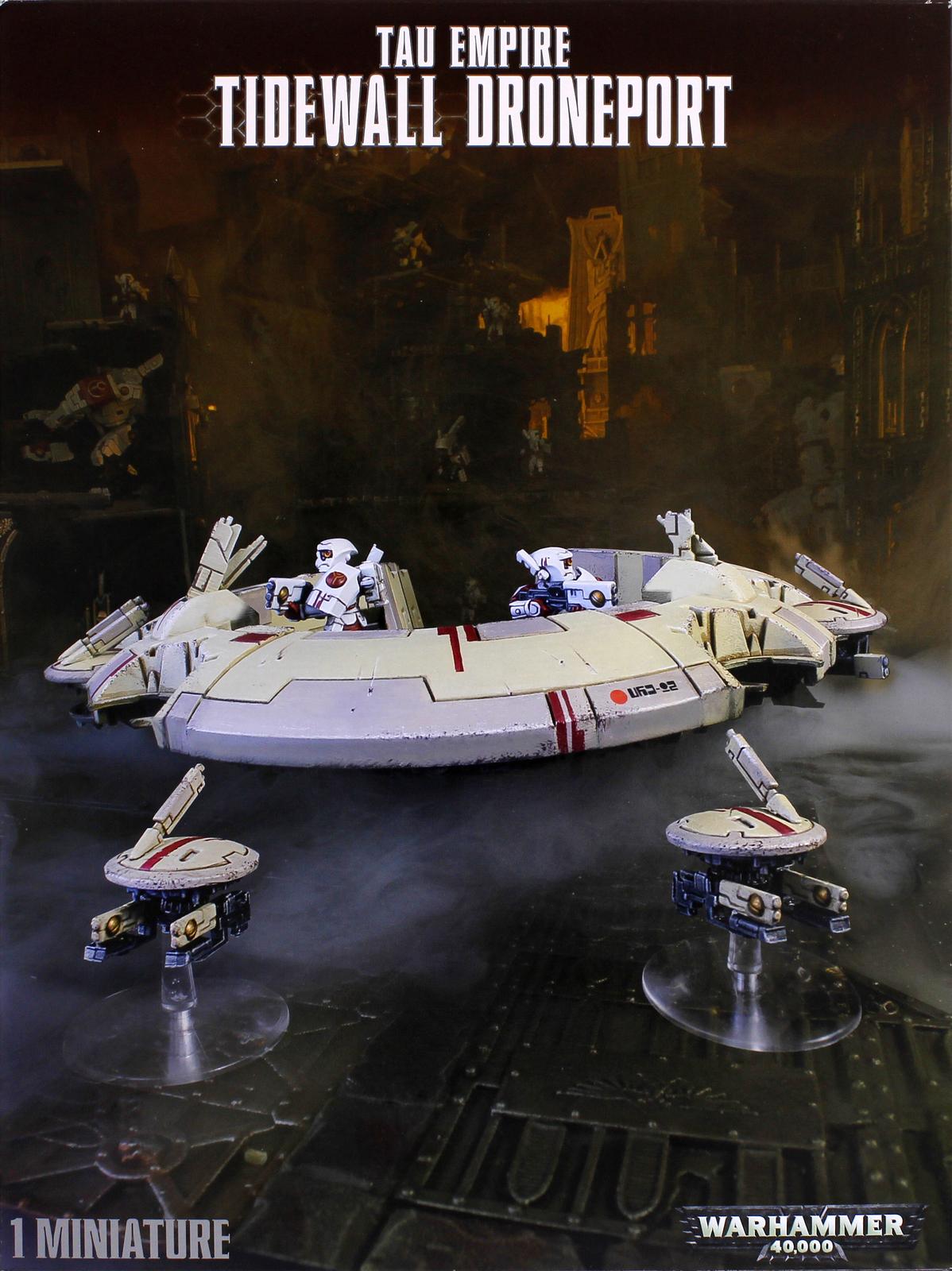 Warhammer 40,000 Tau Empire Tidewall Droneport image