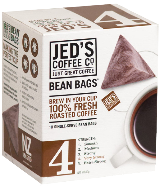 Jeds Coffee Co 4 Bean Bags Coffee At Mighty Ape Nz