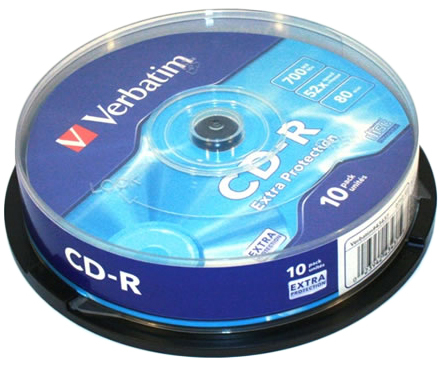 Verbatim CD-R 700MB 52x - 10 Pack
