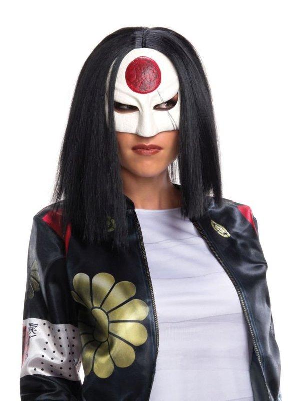 Katana Suicide Squad Costume Wig