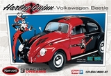 Polar Lights: 1/24 DC Comics Harley Quinn VW Beetle - Model Kit