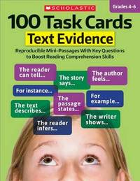 100 Task Cards: Text Evidence by Scholastic Teaching Resources