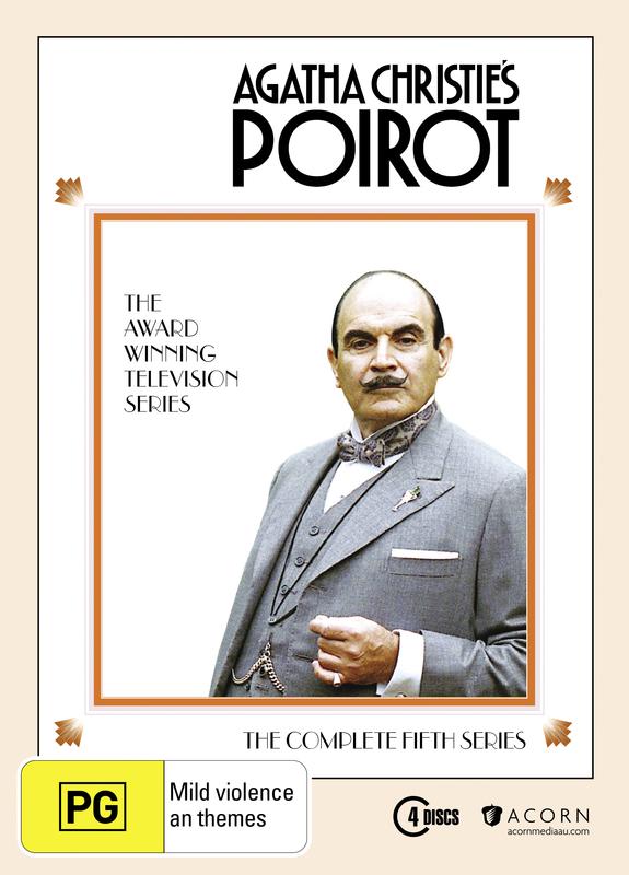 Agatha Christie's: Poirot - Series Five (4 Disc Set) on DVD