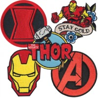 Marvel Patch Series 1 (Assorted)