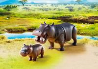 Playmobil: Wildlife - Hippo with Calf image