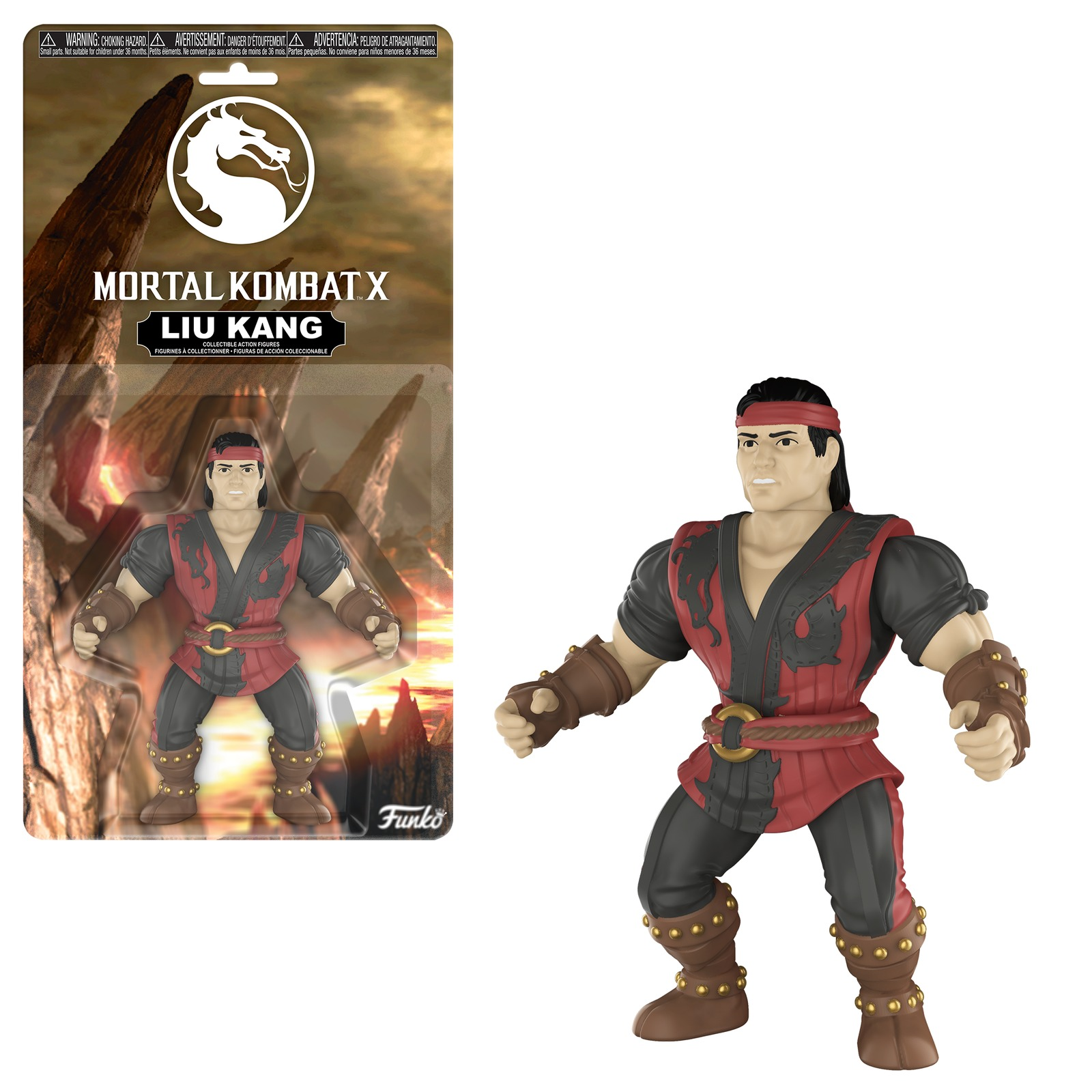 "Mortal Kombat: Liu Kang - 5"" Action Figure image"