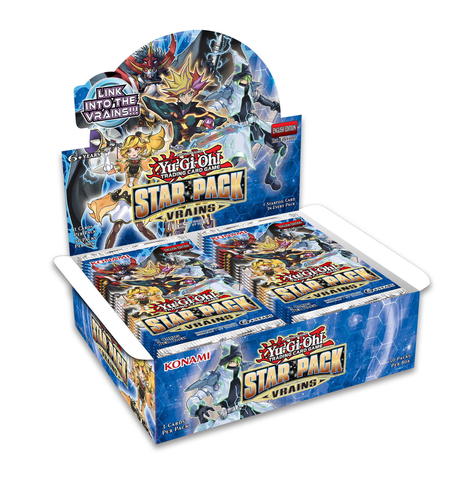 Yu-Gi-Oh! Star Pack: VRAINS Booster Box image