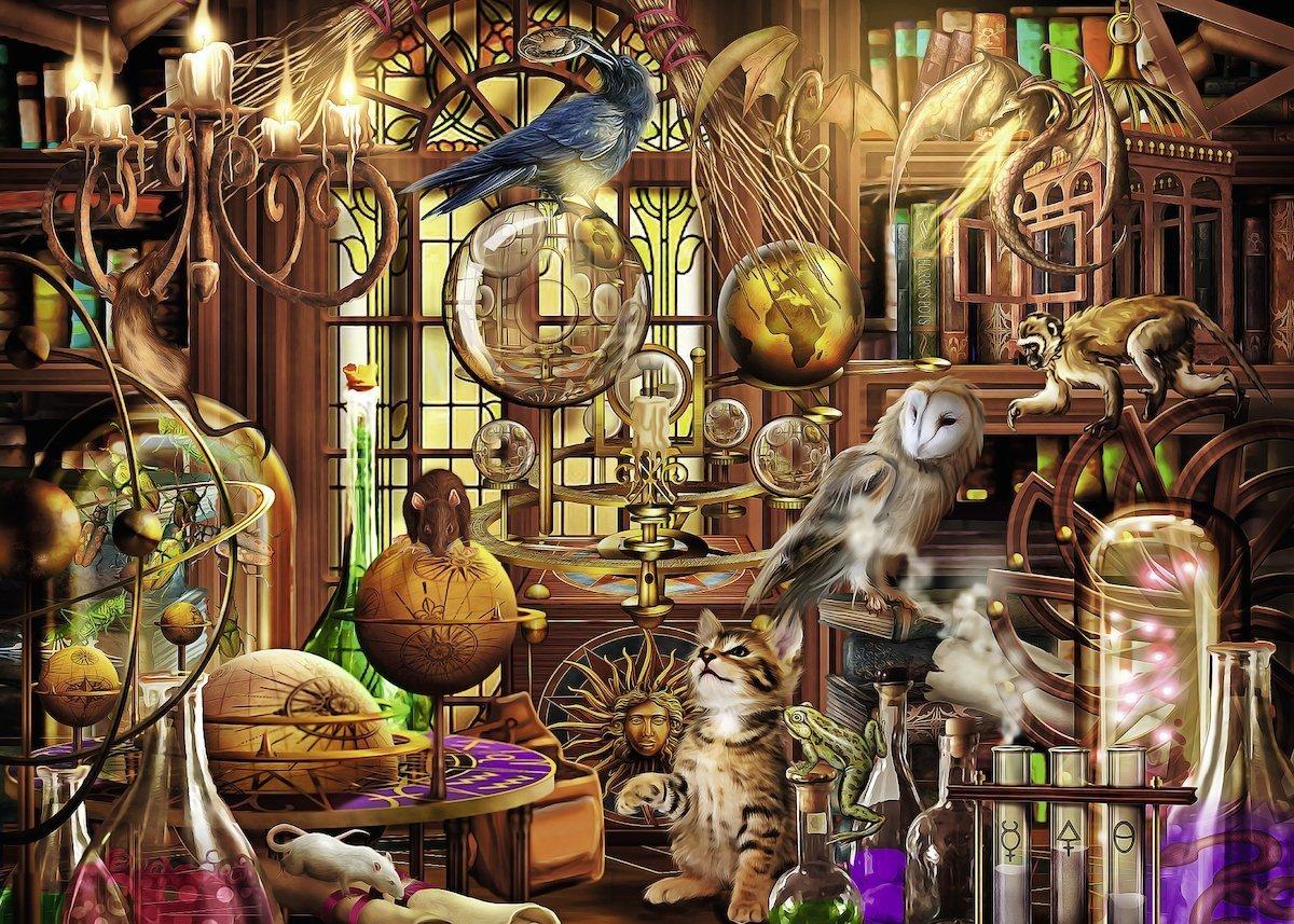 Ravensburger : Merlin's Laboratory Puzzle (1000 Pcs) image