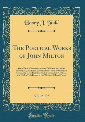 The Poetical Works of John Milton, Vol. 2 of 7 by Henry J Todd image