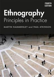 Ethnography by Martyn Hammersley