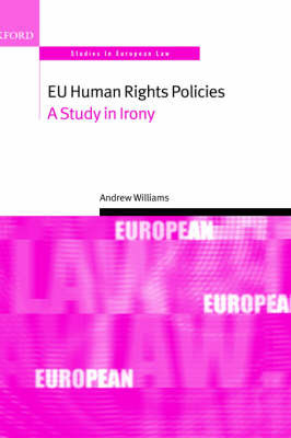 EU Human Rights Policies by Andrew Williams image