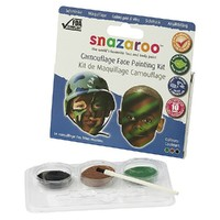 Snazaroo Camouflage Face Painting Kit