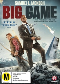 Big Game on DVD