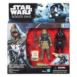 "Star Wars Rogue One: Death Trooper & Rebel Pao - Deluxe 3.75"" Figure 2-Pack"
