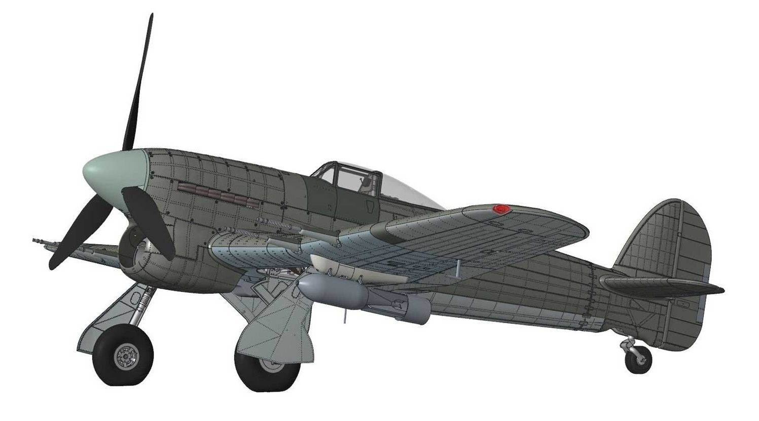Airfix Hawker Typhoon Mk.IB Car Door 1:24 Model Kit image
