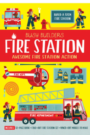 Busy Builders: Fire Station by Chris Oxlade