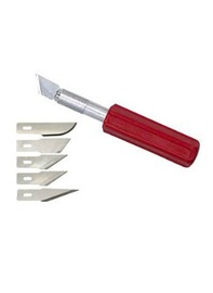 Excel K5 Heavy Duty Knife with 5 Assorted Blades