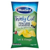 Bluebird Thinly Cut - Salt & Vinegar (140g)