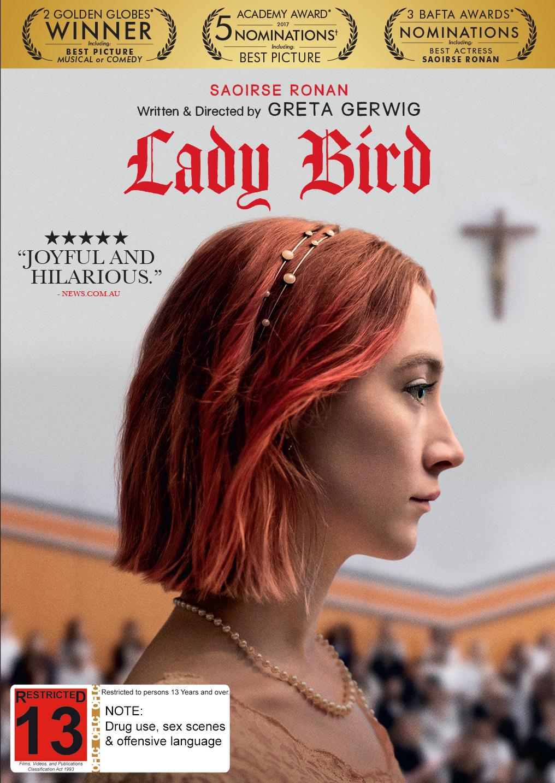 Lady Bird on DVD image