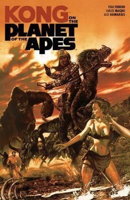 Kong on the Planet of the Apes by Ryan Ferrier