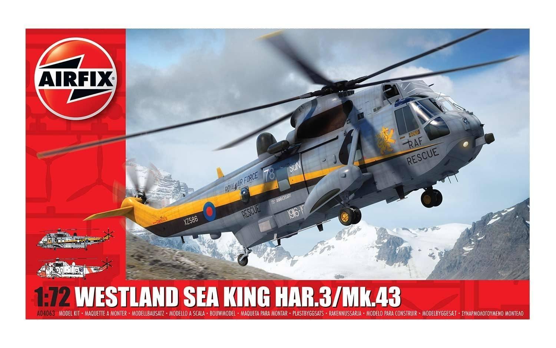 Airfix 1:72 Westland Sea King HAR.3/Mk.43 Scale Model Kit image