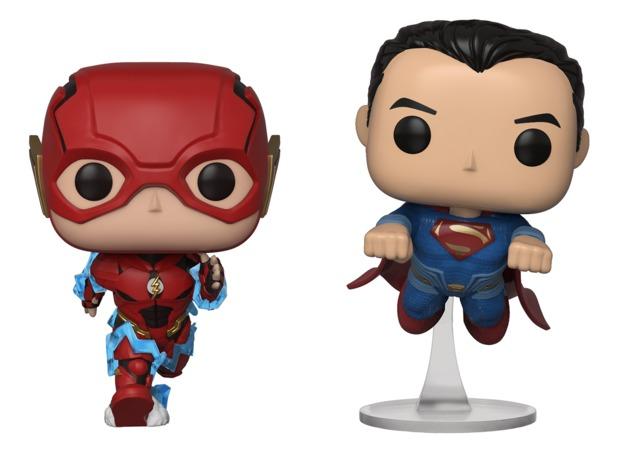 Justice League - Flash & Superman Race Pop! Vinyl 2- Pack