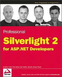 Professional Silverlight 2 for ASP.NET Developers by Chris Barker image