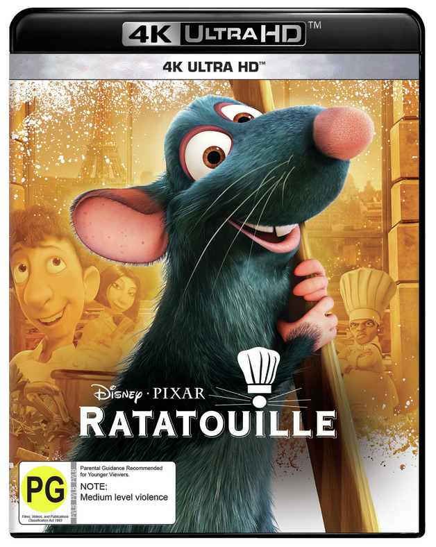 Ratatouille (4K UHD) on UHD Blu-ray