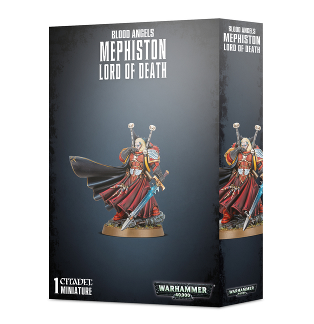 Warhammer 40,000: Blood Angels Mephiston, Lord of Death