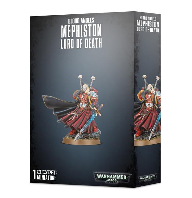 Warhammer 40,000: Blood Angels Mephiston, Lord of Death