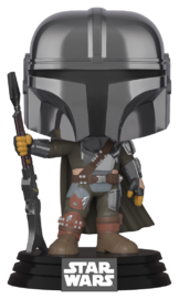 Star Wars: The Mandalorian - (Chrome) Pop! Vinyl Figure image