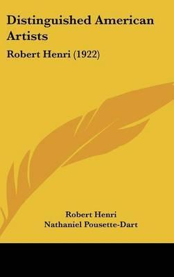 Distinguished American Artists: Robert Henri (1922) by Robert Henri image