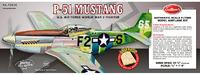 P51D Mustang 1:16 Balsa Model Kit image