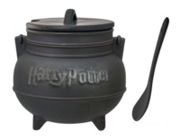 Harry Potter: Black Cauldron - Ceramic Mug with Spoon