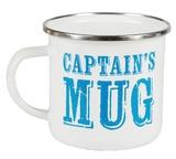 Captain's Enamel Mug