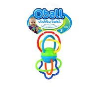 Oball: Clickity Twist - Teething Toy